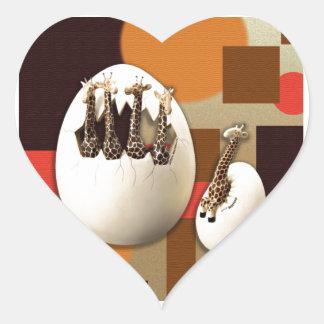 Savannah Style Heart Sticker