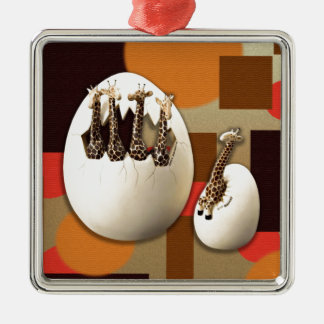 Savannah Style Metal Ornament