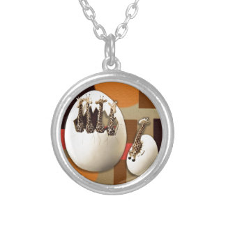 Savannah Style Silver Plated Necklace