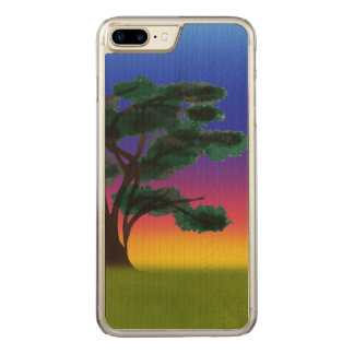Savannah Sunset by The Happy Juul Company Carved iPhone 8 Plus/7 Plus Case