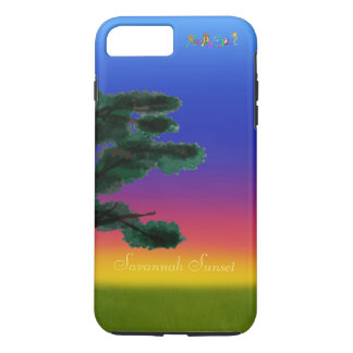 Savannah Sunset by The Happy Juul Company iPhone 8 Plus/7 Plus Case