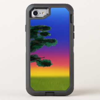 Savannah Sunset by The Happy Juul Company OtterBox Defender iPhone 8/7 Case