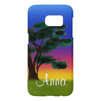 Savannah Sunset by The Happy Juul Company Samsung Galaxy S7 Case