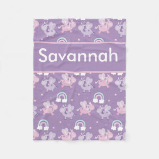 Savannah's Personalized Blanket