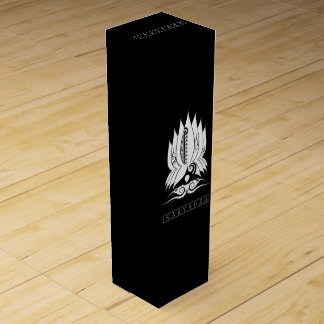 SAVAOB Wine Gift Box Boite Pour Bouteille De Vin