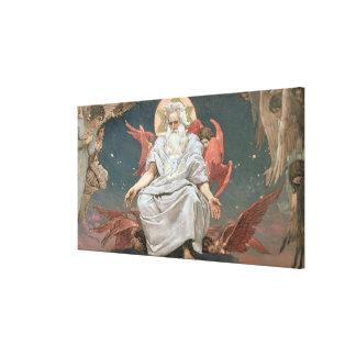 Savaoph, God the Father, 1885-96 Canvas Print