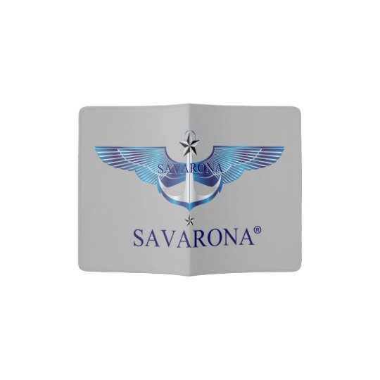 Savarona Logo Passport Holder
