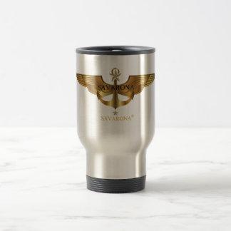 Savarona Logo Stainless Steel Travel Mug