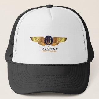 Savarona Neptune Gold Logo Tracker Cap