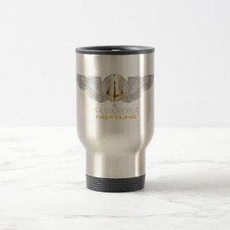 Savarona Neptune Logo Stainless Steel Travel Mug