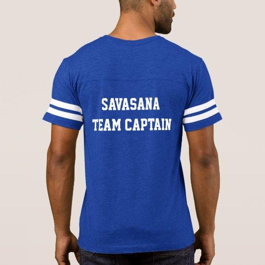 Savasana Team Captain - Spiral Path Yoga T-Shirt