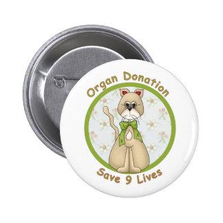 Save 9 Lives 2 Inch Round Button