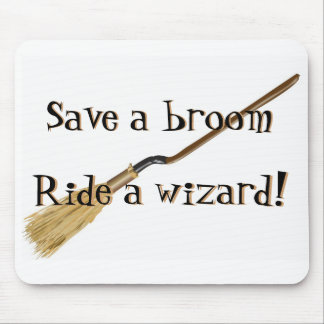 Save A Broom Mousepad
