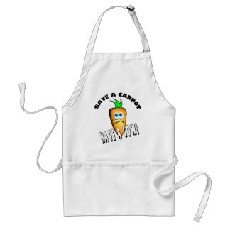 SAVE A CARROT - HAVE A COW STANDARD APRON