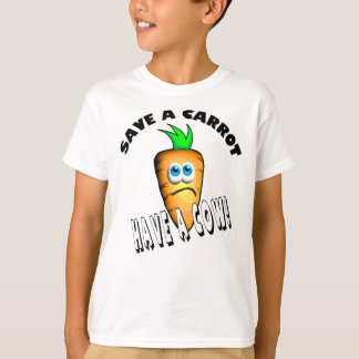 SAVE A CARROT - HAVE A COW T-Shirt