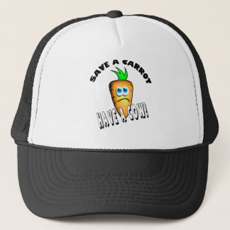 SAVE A CARROT - HAVE A COW TRUCKER HAT
