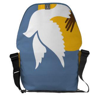 Save a Dove Messenger Bag