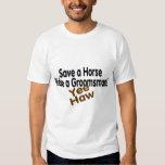 Save A Horse Ride A Groomsman Yee Haw Tees