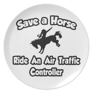 Save a Horse .. Ride an Air Traffic Controller Plate