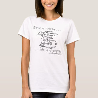 Save a horse t-shirt for gals