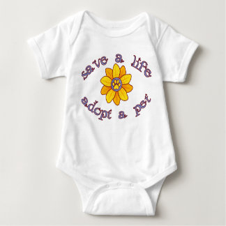 Save A Life - Adopt Baby Bodysuit