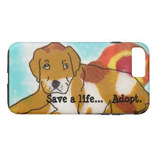 Save a Life....adopt iPhone 8 Plus/7 Plus Case