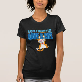 Save A Life Shelter Cat T-Shirt