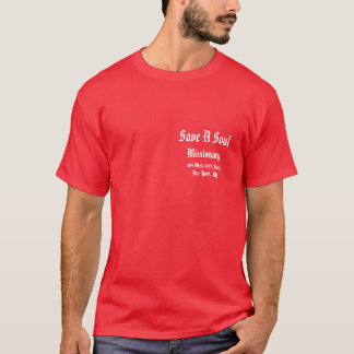 Save a Soul: Sarah Brown T-Shirt