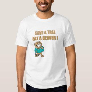 Save A Tree Tee Shirts