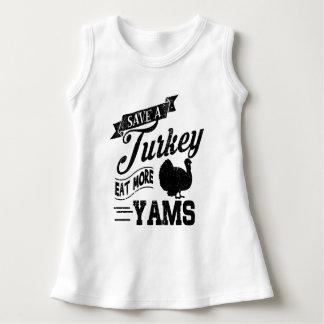 Save a Turkey Eat More Yams Dress