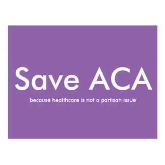 Save ACA Postcard