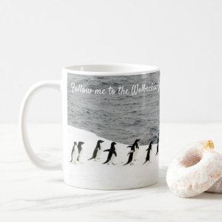 Save Adélie Penguins by RoseWrites Coffee Mug