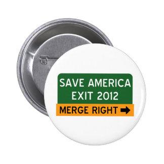 Save America Repulican 2 Inch Round Button