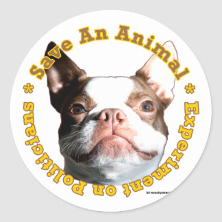 Save An Animal-Dog Sticker