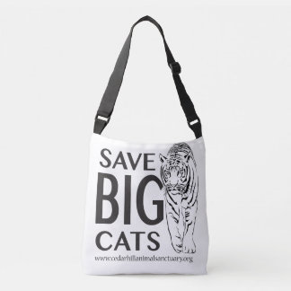 Save Big Cats Crossbody Bag
