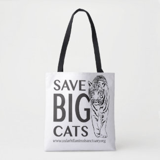 Save Big Cats Tote Bag