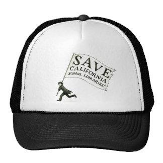 Save CA School Libraries Merchandise Trucker Hat