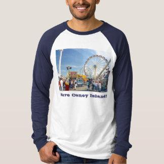 Save Coney Island! Adult Long-Slve Raglan T-shirt