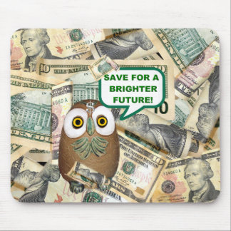 SAVE!  Dollar Bill   Mousepad