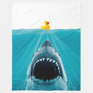 Save Ducky Fleece Blanket