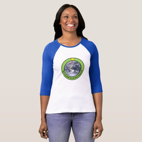 Save EARTH for generations woman's T-shirt