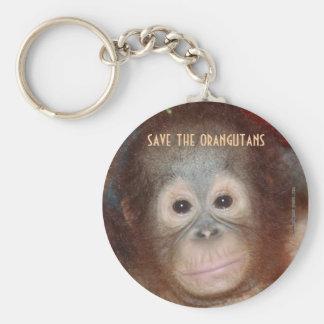 Save Endangered Wildlife Keychain