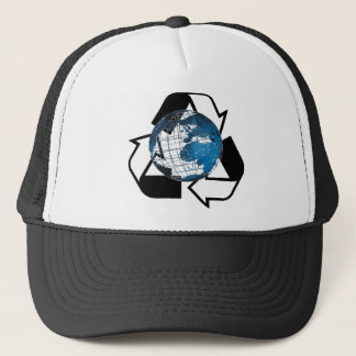 Save Energy, Recycle Trucker Hat