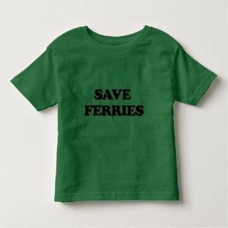Save Ferries Tee Shirts