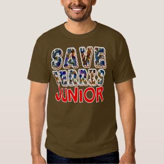 Save Ferris Junior T Shirt. T Shirts