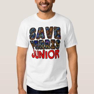Save Ferris Junior T Shirt. Tees