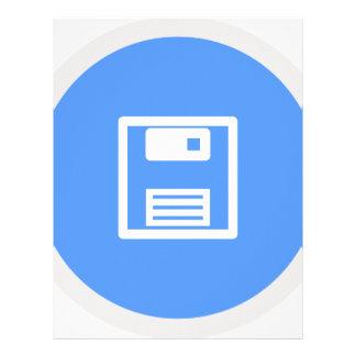 Save Floppy Disk Letterhead