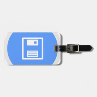 Save Floppy Disk Luggage Tag