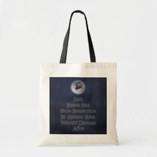 Save Flying Pigs Tote Bag