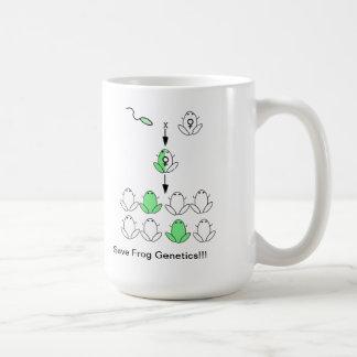 Save Frog Genetics Mug
